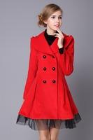 2015 New Fashion clothing factory price women causal coat long women coat