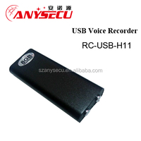 11 hours Mini USB Voice Recorder RC-USB-H11 with MP3 function Sound Recorder