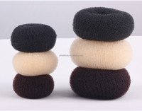 2015 wholesale hair donut, snap hair bun ,Professional nylon hair bun hair donut maker Popular Hair Accessories Bun/Hair Bow