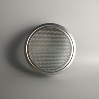 70mm silver sprouting mesh lid for mason jar