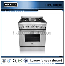Hot selling commercial home appliance oven / gas cooking range in china
