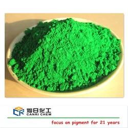 Inorganic iron oxide green / color asphalt pigment / pigment for color asphalt