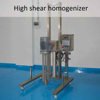 high speed cosmetic Pneumatic homogenizer Disperser