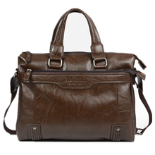 14 inch leather laptop bags for men briefcase bag