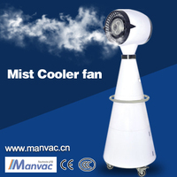 Integrated misting cooling A-4PT mist maker for Flower shops, Green house