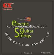 Níquel cordas da guitarra elétrica, Partes de guitarra corpo, Instrumento musical harpa