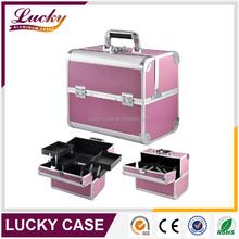 Wholesale Aluminum Portable Jewelry Display Case Makeup Box