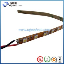 10 years led strip pcb,led strip flexible pcb black pcb led flexible strip Manufacture with UL,ROHS ,ISO