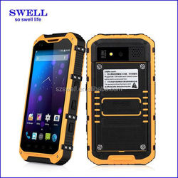 best multifunctional outdoor rugged phone 4.3 inch screen quad core dual SIM card 5.0MP camera IPS screen a9