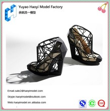 Custom shoe prototype for shoe manufacturer