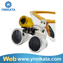 Chinese famous brand Yimikata Dental Foshan Export Yellow Dental Loupe CE Approved Long Warranty dental laser equipment
