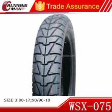 Motorcycle Tubeless Tyre 90/90-18 For Venezuela