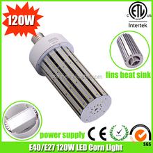 led parking lot retrofit light e39 e27 led 120watt led corn cob e27 bulbs