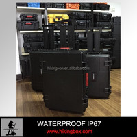 Cheapest Plastic Camera Case Waterproof IP67 with Wheels