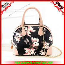 OME custom logo elegence women fashion handbag 2015 from China