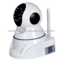 Venta caliente !!! AP & WPS 1280 * 720 Wireless WiFi Cámara IP