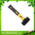 Diferentes tipos de martillos lapidación con plástico de color doble- capa manejar