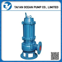 High-performance mechanical/ centrifugal submersible sewage pump