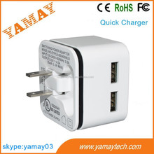 universal travel wall charger with multi connectors, quick charge 2.0 usb travel charger ce, international usb wall charger