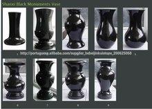 JK piedra diseño o cliente estilo granito lápida floreros