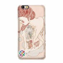 3D Blank Plastic Case Cover,3D Girls Cell Phone Cover Case