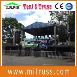 aluminum speaker truss for outdoor events