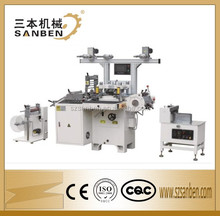 (SBM-D200) full auto high speed 18000pcs/h die cutting machine, plastic film cutting machine, label sticker die cutter