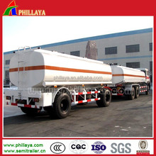 small fuel tank trailer for oil and other liquid short way transportation