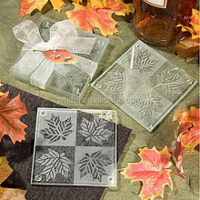 Table Decoration Fall Themed Coaster Favors