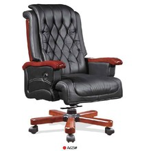Executive Office Chair A623 /Double Function Cow Leather
