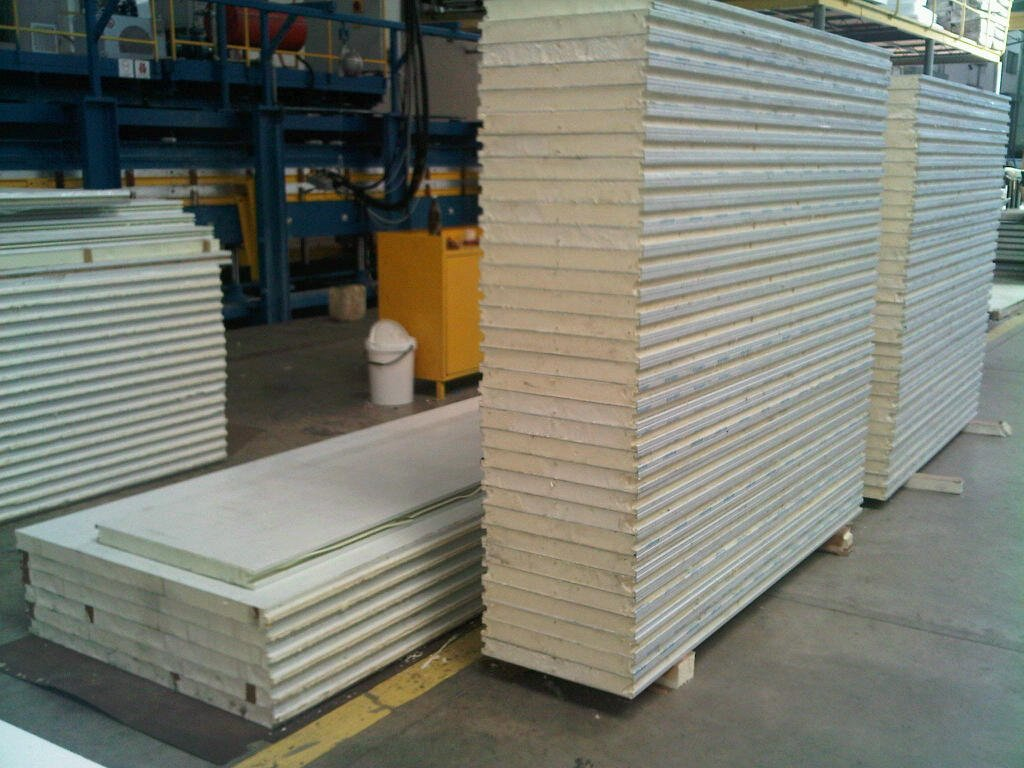 Poly Insulation Panels : Polyurethane insulated panels
