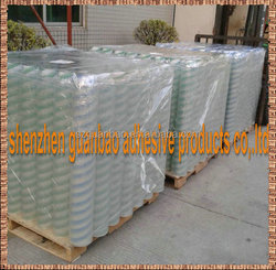 Low adhesive laminating film jumbo roll consumable material