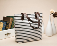 Factory Sale Promotional Fashion Laminated Woven Women Handbags