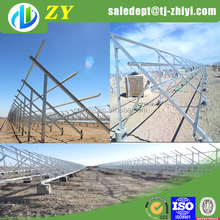 Hot dipped galvanizing solar mounting brackets and solar pv mounting system for ground installation