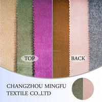 100% wool Double- faced Cashmere knit fabric for coats