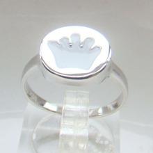 China al por mayor anillo chapado en rodio fabricación hecha de plata esterlina joyería de moda anillo DR014033R-2.7g