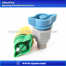 Plastic quick release flat fan spray nozzle,quick release spray nozzles for dust control,quick release nozzles for cleaning