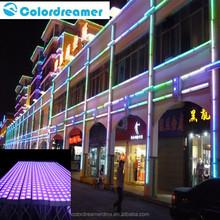 dmx digital led bar Colordreamer lower price smd5050 ip67 60 pcs rgb10W LED 1/2/4/5/10/20 pixel dmx digital led aluminum bar