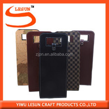 2 bottle PU leather wine carrier/wine bags