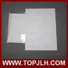 A4 de inyección de tinta de impresión transparente papel de transferencia de agua / papel de calcomanía tobogán