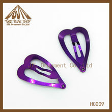 Fashionable Hair Clip with Metal Spring
