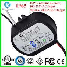 15w 350mA Constant Current 100-277VAC Input led driver circuit