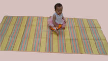 Nice design 90*200cm pp woven mat baby mat for picnic and camping