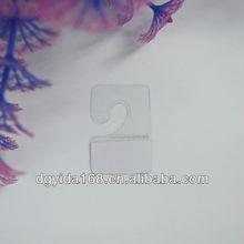 adhesive plastic J hooks hang tab