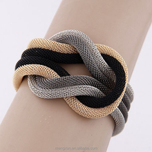 Europe and the United States punk new alternative metal preparation Multilayer knot bracelet