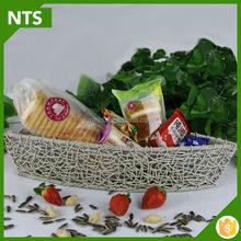 Popular Handicraft Rattan Snack Stroage Basket