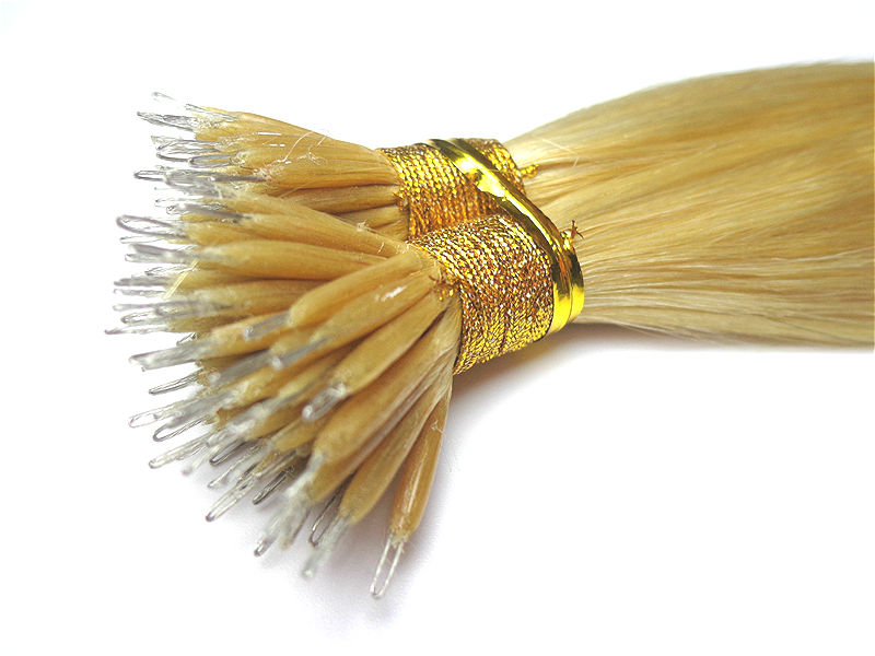 613 Blonde Nano Ring Hair Extensions Buy Nano Ring Hair
