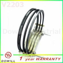 2015 best selling rings, V2203 piston ring, 87mm ring set