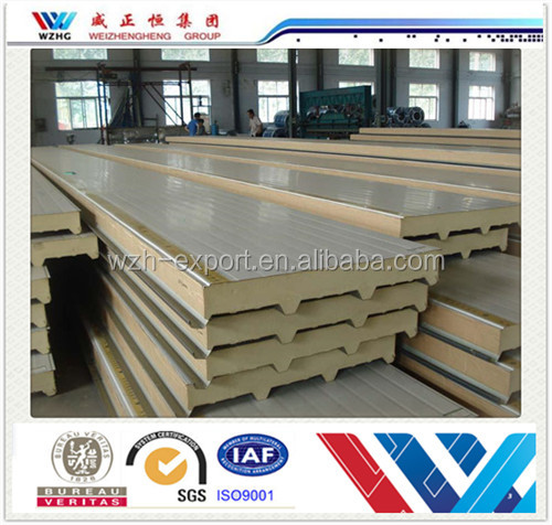 Cheap building materials cold room panel price 50mm 100mm for Cheap construction materials