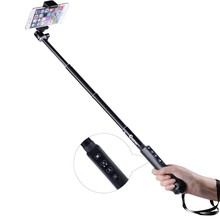 Cootree KS-01 Extendable Bluetooth Wireless Handheld Selfie Pole / Monopod for iPhone,Samsung and Others